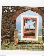 Cap Vert-Cabo Verde-1991-Ville De Ribeira-monument-YT B15***MNH - Cap Vert