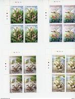 Cap Vert-Cabo Verde-2005-Oiseaux-844/7**MNH   BLOC DE 4 - Cap Vert