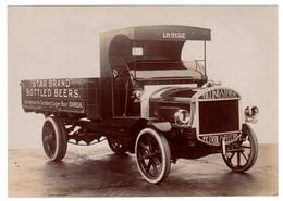 Camionnette De Transport Marque Tilling-Stevens, Star Brand Bottle Beers - 1920 - Camions & Poids Lourds