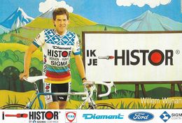 Cycliste: Willem Wijnant, Equipe De Cyclisme Professionnel: Team Histor Sigma, Belge 1989 - Sports