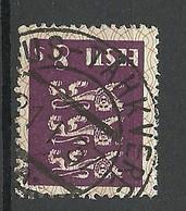 Estland Estonia 1929 O LAIUS-TÄHKVERE Auf Michel 78 - Estland