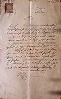 AD205/2 Alte Urkunde Grundbuch Gießhübl - Mödling, Dezember 1900, Stempelmarke - Historische Dokumente