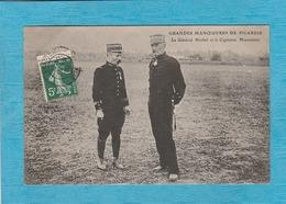 Grandes Manœuvres De Picardie. - Le Général Michel Et Le Capitaine Marconnet. - France
