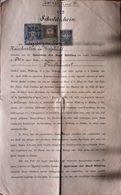 AD208 Alter Schuldschein Sparcasse Der Stadt Mödling, 1897, Mit Stempelmarken - Historische Dokumente