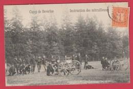 Kamp Van Beverlo / Camp De Beverloo ... Instruction Des Mitrailleuses - 1913 ( Verso Zien ) - Leopoldsburg (Camp De Beverloo)
