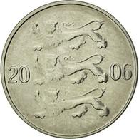 Monnaie, Estonia, 20 Senti, 2006, No Mint, TTB, Nickel Plated Steel, KM:23a - Estonia