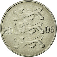 Monnaie, Estonia, 20 Senti, 2006, No Mint, TTB, Nickel Plated Steel, KM:23a - Estonie