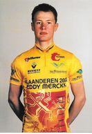 Cycliste: Kris Gerits, Equipe De Cyclisme Professionnel: Team Vlaanderen 2002, Eddy Merckx, Belge 1996 - Sports