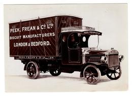 Véhicule Camion De Transport Peek, Frean & Co - Biscuit Manufacturers London - Marque Tilling-Stevens - Camions & Poids Lourds