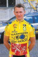 Cycliste: Johan Verstrepen, Equipe De Cyclisme Professionnel: Team Vlaanderen 2002, Eddy Merckx, Belge 1996 - Sports