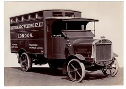 Véhicule Camion De Transport British Arc Welding Co Ltd - Marque Tilling-Stevens - Camions & Poids Lourds