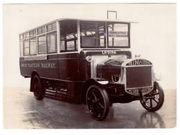 Bus De Transport Great Eastern Railway  - Marque Tilling-Stevens - Camions & Poids Lourds