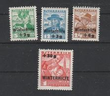 WHW Mi. Nr. 613 - 616 Postfrisch - 1918-1945 1. Republik