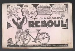 Buvard  CYCLES REBOUL  (PPP10300) - Transport