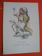 USA-STATI UNITI(smoking A Pipe).REPUBBLICA DEI RAGAZZI.Nick.FOLCLORE - Indiens De L'Amerique Du Nord