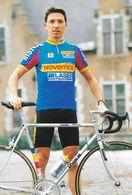 Cycliste: Bruno Cornillet, Equipe De Cyclisme Professionnel: Team Novemail Laser Computer, France 1993 - Sports