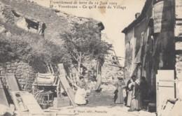 CPA - Vernègues - Tremblement De Terre Du 11 Juin 1909 - Vernègues Ce Qu'il Reste Du Village - Other Municipalities