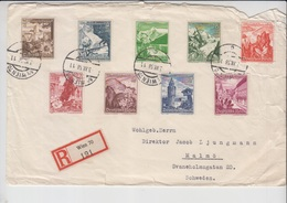 Germany Cover, Stamps         (Red-3000-special-9) - Duitsland
