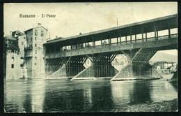 Bassano - Il Ponte - Viaggiata In Busta 1918 - Rif. 14537 - Italia