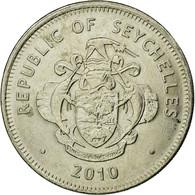 Monnaie, Seychelles, Rupee, 2010, British Royal Mint, TTB, Copper-nickel - Seychelles