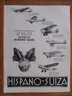 (1931) Nouvelle Motorisation Avion LATECOERE HISPANO SUIZA 650 CV     - Page Originale Vintage - Machines