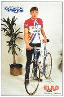 Cycliste: Richard Jansen, Equipe De Cyclisme Professionnel: Team Elro Snacks De Yskoning, Holland 1989 - Sports