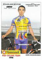 Cycliste: Ken Hashikawa, Equipe De Cyclisme Professionnel: Team Tonissteiner Saxon, Japon 1998 - Sports