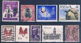 Africa Del Sur  -  Varios  ( Usados ) - África Del Sur (1961-...)