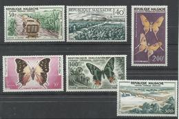 MADAGASCAR YVERT AEREO 78/83  MNH  ** - Madagascar (1960-...)