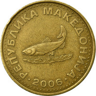 Monnaie, Macédoine, 2 Denari, 2006, TB+, Laiton, KM:3 - Macédoine
