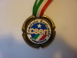 """Medaglia Sportiva """"COMITATO REGIONALE CSEN CAMPANIA  2° TORNEO NAZIONALE  TAEKWONDO POZZUOLI 2007"""" - Professionali/Di Società"""