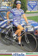 Cycliste: Mantovani Giovanni, Equipe De Cyclisme Professionnel: Team Atala Ofmega, Italie 1988 - Sports
