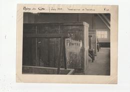 PHOTO - USINE CHIMIQUE DE SETE - VESTIAIRES ET LAVABOS - 7 JUIN 1919 - 34 - Places