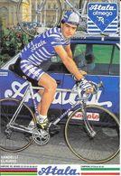 Cycliste: Vandelli Claudio, Equipe De Cyclisme Professionnel: Team Atala Ofmega, Italie 1988 - Sports