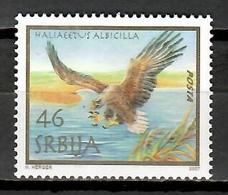 Serbia 2007 / Birds Joint Issue Austria MNH Vögel Aves Oiseaux / Cu11937  41-4 - Pájaros