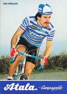 Cycliste: Urs Freuler, Equipe De Cyclisme Professionnel: Team Atala Campagnolo, Suisse 1984 - Sports