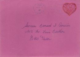 ADH 648 PATCH D AMOUR SEUL SUR LETTRE 02/07/2012 POUR TOULON - Covers & Documents