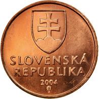 Monnaie, Slovaquie, 50 Halierov, 2004, SUP, Copper Plated Steel, KM:35 - Slovakia