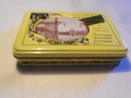 COLLECTION / BOITE EN TOLE / BERGAMOTES DE NANCY / 18X13X4 CM - Cajas