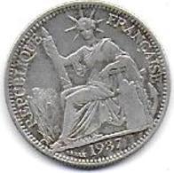 INDO CHINE - 10 C  1937 - Colonie