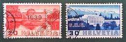 SOCIETE DES NATIONS A GENEVE 1938 - OBLITERES - YT 307/08 - Suisse