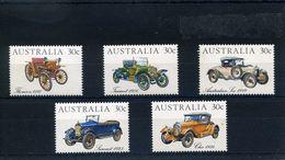 Timbres Australie 1984  - Veteran And Vintage Cars - Nuevos