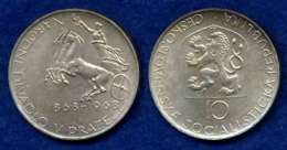CSSR 10 Kr. 1968 Triga Ag500 - Tchécoslovaquie