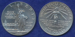 USA 1 Dollar 1986 Freiheitsstatue Ag999 26,7g - Federal Issues