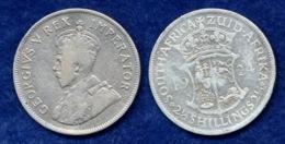 Südafrika 2 1/2 Sh. 1924 George V. Ag800 - Afrique Du Sud