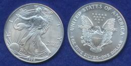 USA 1 Dollar 1998 Freiheitsgöttin Ag999 1oz - 1979-1999: Anthony