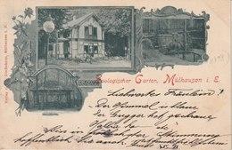 68 - Gruss Aus Mülhausen 1898 - Mulhouse