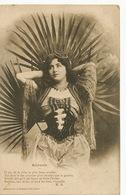Belle Femme  Aicha Femme Arabe Dans Les Cactus   Edit. Bergeret - Donne