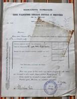 55 VERDUN C.A.F. Agricoles Et Forestieres De La Meuse Tampon - Agriculture