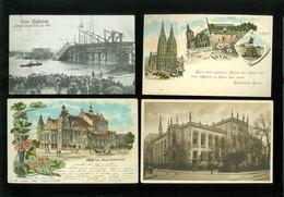 Beau Lot De 60 Cartes Postales D' Allemagne Deutschland Cöln Köln Koeln  Mooi Lot Van 60 Postkaarten  Duitsland Keulen - Postkaarten